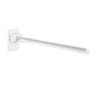 511960W-Barre d'appui rabattable Be-Line® blanc, L.650 mm
