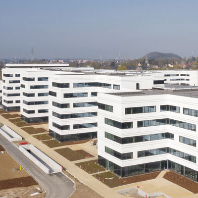 MontLégia, het nieuwe ziekenhuis in Luik