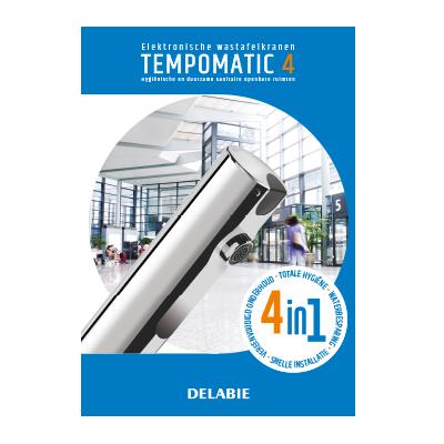 TEMPOMATIC 4 elektronische wastafelkranen