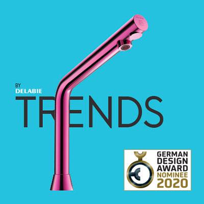 TRENDS BY DELABIE tijdschrift: genomineerd voor de German Design Award 2020