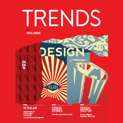Trends by DELABIE - het magazine voor design trends in sanitaire ruimten