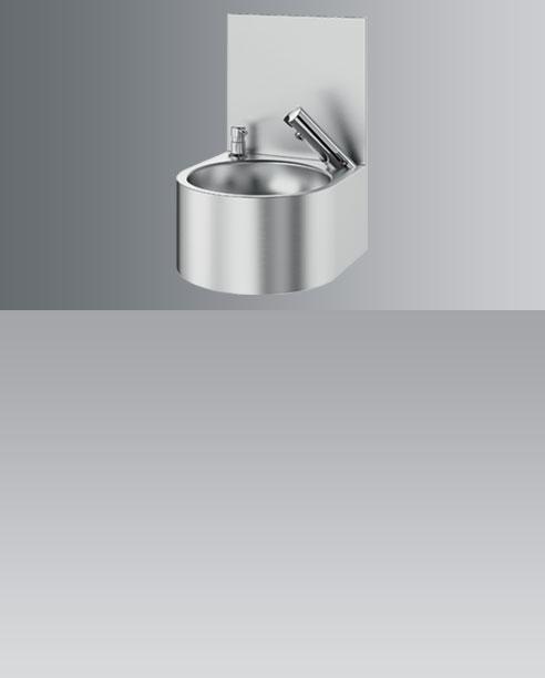 Elektronische handwasbakjes