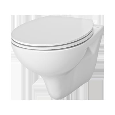 WCeram S toilet zonder spoelrand