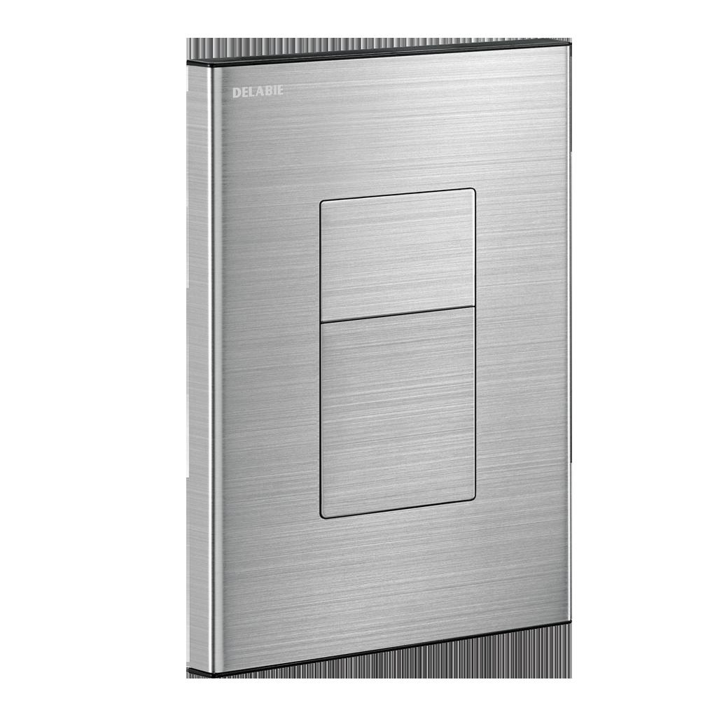 TEMPOFLUX 3 AB inbouwkraan voor directe toiletspoeling - plaat in mat rvs