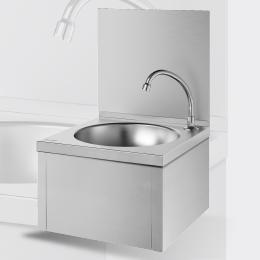 Mechanisch handwasbakje met kniebediening