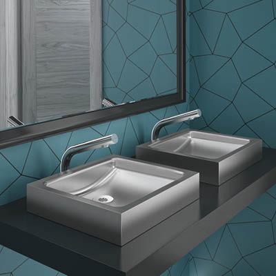 UNITO design waskom in rvs