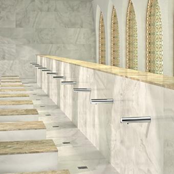 Zaal voor rituele wassing