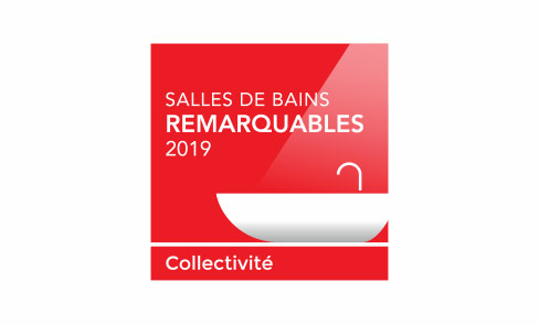 Lauréat des Salles de Bains Remarquables 2019 - Catégorie Collectivité