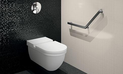 Be-Line®: een volledig assortiment grepen en douchezitjes voor gehandicapten of senioren