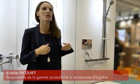 Reportage sur le siège de douche rabattable Be-Line®, dans l'air du design pour tous